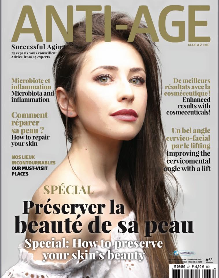 L'article sur le Lipofilling des seins : Magazine Anti-Age, Auteur : Dr Laurent Benadiba